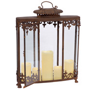 "Park Avenue Collection Victorian Style Lantern 20"" x 5"" x 24"""