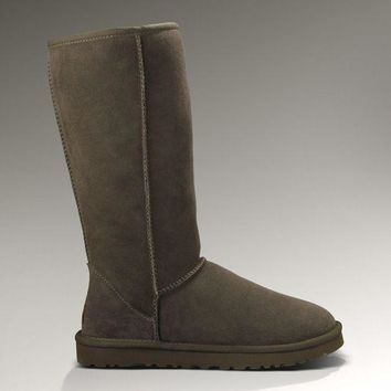 ESBON UGG 5815 Classic Tall Women Men Fashion Casual Wool Winter Snow Boots Chocolate