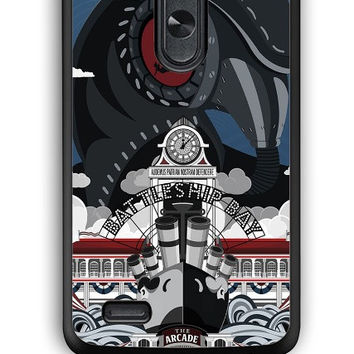 LG G3 Case - Hard (PC) Cover with Bioshock Infinite Poster Plastic Case Design
