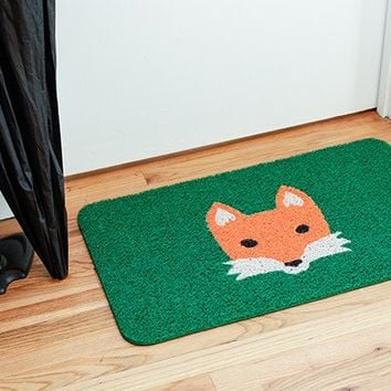 Doormat Fox - Kikkerland Design Inc