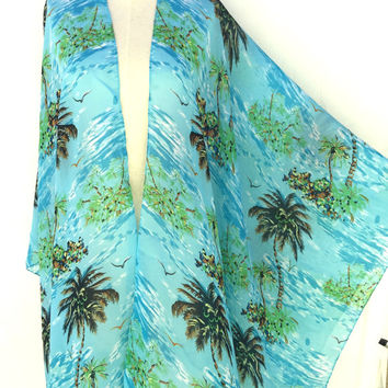 Gift for Women ponchos, Kimono Cardigan, handmade items, best gift ideas, end of summer september gifts, chiffon fabric,  lightweight scar,