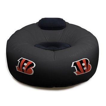 Cincinnati BENGALS NFL Inflatable Air CHAIR w/Pump!