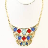 Bejeweled Necklace Set - Necklace Set