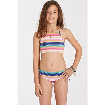 Billabong Girls - Sunset Sol Crop Set | Multi