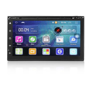 """7"""" Android 5.1 Autoradio Bluetooth DVD GPS Navigation Car Stereo Player Fully Capacitive Touch Screen 2 DIN with USB 3G WIFI USB Rear Camera FM"""