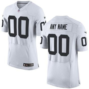 Custom Name & Number White Nike Jersey #36787
