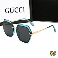GUCCI Summer Fashion Women Men Sun Shades Eyeglasses Glasses Sunglasses