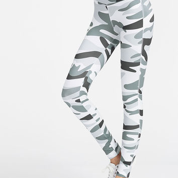 Camo Print Ankle Leggings