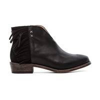 Koolaburra Dallas Fringe Bootie in Black