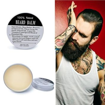 [FREE OFFER DETAILS BELOW!]  Organic Beard Balm Conditioner for Effective Beard Care
