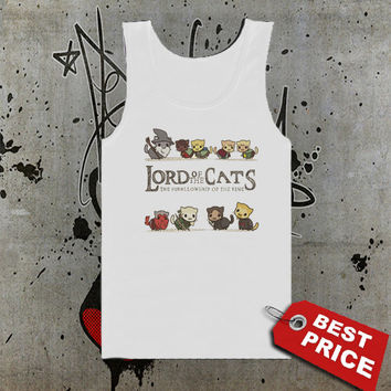 Lord Of The Cats Tank Top, Men Tank Top, Girls Tank Top, Ladies Tank Top, Womens Tank Top, Girls Shirt, Funny Shirt