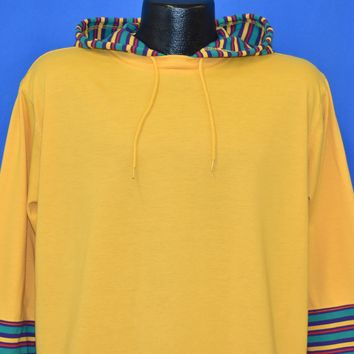 90s Oversize Yellow Hood t-shirt Large