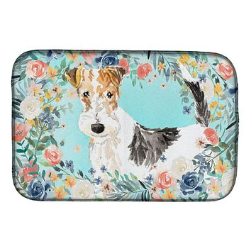 Fox Terrier Dish Drying Mat CK3402DDM