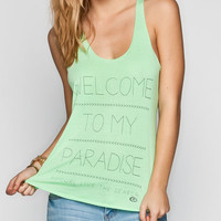 Rip Curl My Paradise Womens Tank Mint  In Sizes