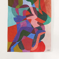 Ines Longevial Abstract Art Tapestry | Urban Outfitters