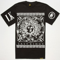 Last Kings Medusa Mens T-Shirt Black  In Sizes