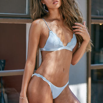 LA Hearts Lace Trim Skimpy Bikini Bottom at PacSun.com
