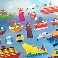 ferry cruise sticker ships submarine fastest rain railway epoxy sticker traveller theme mini transportation little car boys sticker gift
