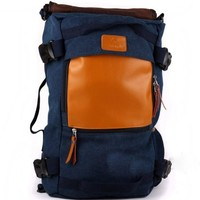 Day-First™ Blue Men's Outdoor College Backpack Trekking Rucksack Daypack Hiking Bag