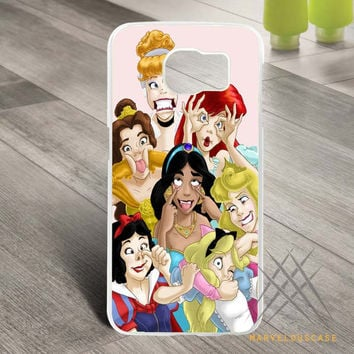 Disney Princess Funny 3 Custom case for Samsung Galaxy