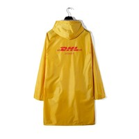DHL Rubber Raincoat
