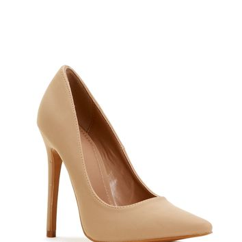 Nude On-point Pumps