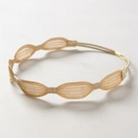 Scalloped Mesh Headband by Anthropologie