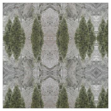 Tranquil Icy Branches Fabric