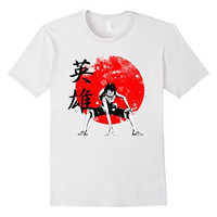 Hero (Kanji) Straw hat One piece T-Shirt