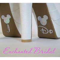 Disney Inspired I Do Shoe Stickers You Pick by EnchantedBridal