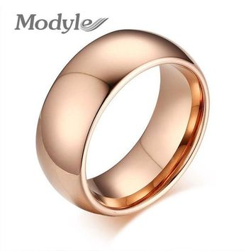 DCCKU62 2016 New Fashion High Quality Tungsten Men Ring High Polished Wedding Tungsten Ring Jewelry