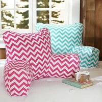 Chevron Lounge Around Pillow Cover