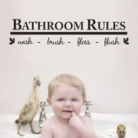 wall sticker poster bathroom decoration wall decals home decor sticker wall art papel de parede para quarto