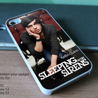 New Custom Design for iPhone 4, 4S, 5, 5S, 5C and Samsung Galaxy S3 & S4 - kellin quinn sleeping with sirens