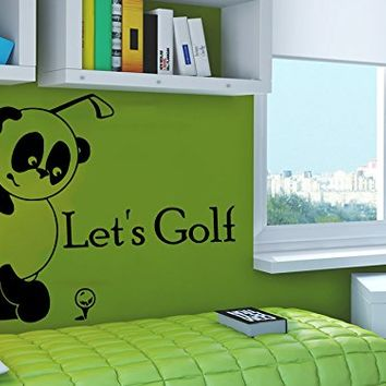 Wall decals quotes vinyl sticker decal from amazon kids boys Golf decor for home