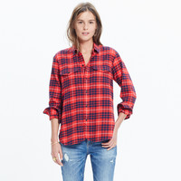 FLANNEL CARGO WORKSHIRT IN ALTAMIRA PLAID