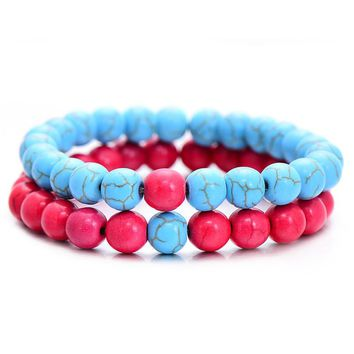 Cotton Candy Distance Bracelets