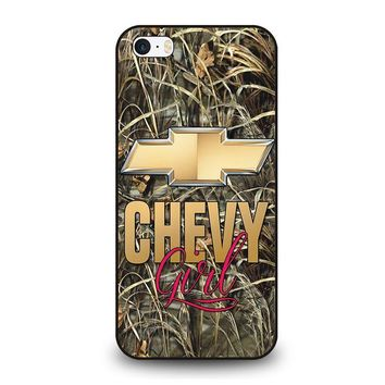 camo chevy girl iphone se case cover  number 1