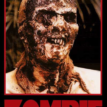 Zombie Lucio Fulci Movie Poster 24x36