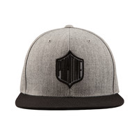 GRIDIRON SNAPBACK - ATHLETIC HEATHER