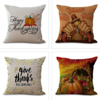 Trendy Thanksgiving Pillow Covers