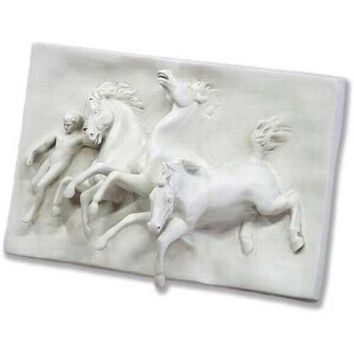 Horses of Anahita by William Morris Hunt Wall Hanging, Assorted Sizes
