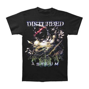 Disturbed Men's  Breakout Tour T-shirt Black Rockabilia