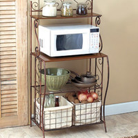 Kitchen Storage with Baskets