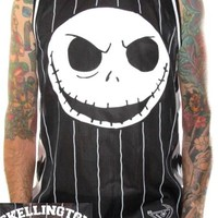 Nightmare Before Christmas Basketball Jersey - Skellington