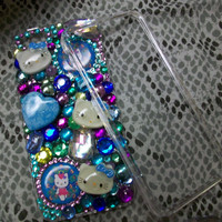 Hello Kitty Peacock IPhone 5 Chunky Cell Phone Case  by SheDazzled