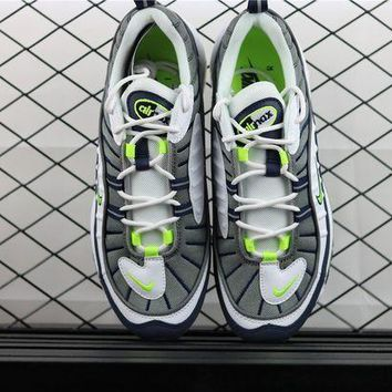 "Nike Air Max 98 ""Tour Yellow""running shoes 640744-103 DCCK"