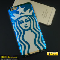 TPU Cases For Apple iphone5 5s 6 6plus 6s New Arrivals Blu-ray American flag starbuck Soft Phone Protection skin shell