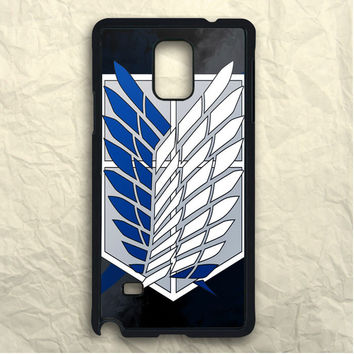 Movie Attack On Titan Scouting Legion Samsung Galaxy Note 3 Case