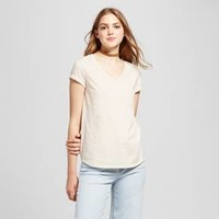 Women's Short Sleeve Relaxed V-Neck T-Shirt - Mossimo Supply Co.™